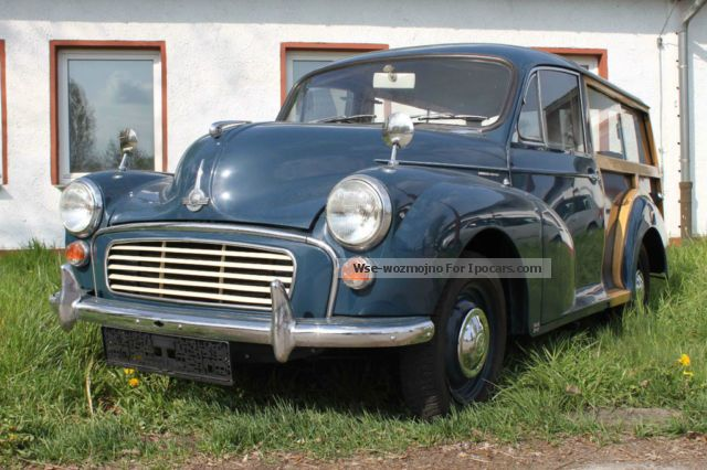 Austin  Morris Minor 1000 Traveller (woody) 1968 Vintage, Classic and Old Cars photo