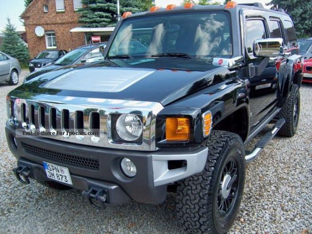 2006 Hummer  H3 Bicolor-Leder/Navi/Rückfahrkamera/DVD free Off-road Vehicle/Pickup Truck Used vehicle (  Accident-free ) photo