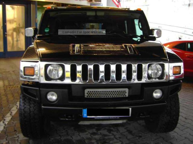 2005 Hummer  H2 Euro model with LPG Gas Lambo Door's Off-road Vehicle/Pickup Truck Used vehicle photo