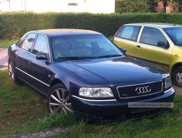 1999 Audi  A8 3.7quattro GAS / LPG 11 € / 100km - many new parts Saloon Used vehicle (  Accident-free photo