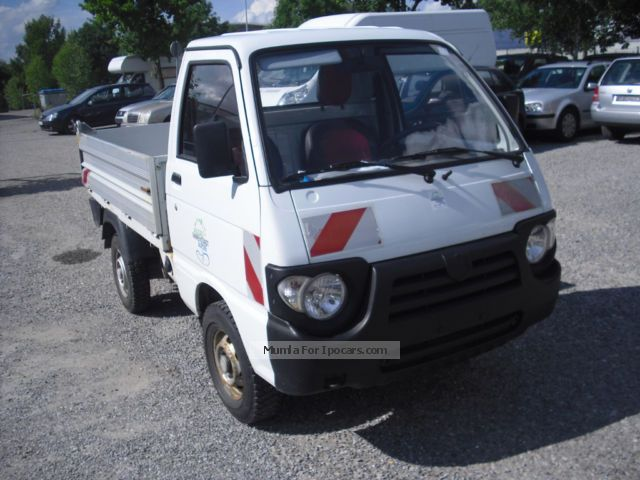 2007 Piaggio  QUARGO TRUCK-PLATFORM-1 HAND Estate Car Used vehicle photo