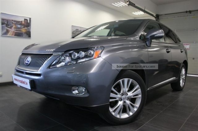 Lexus  RX 450 h 2012 Electric Cars photo