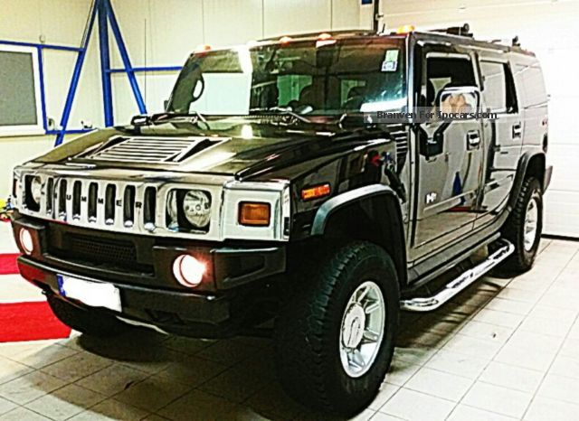 Hummer  H2 top condition year 2006 LPG 160L Black Led AHK 2006 Liquefied Petroleum Gas Cars (LPG, GPL, propane) photo