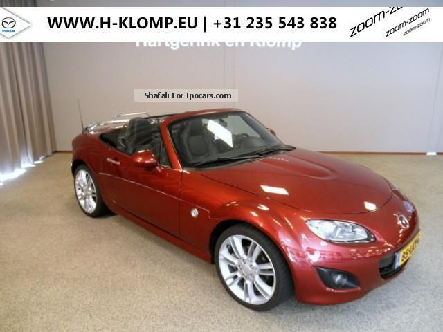2012 Mazda  MX-5 Roadster 2.0 GT-L met 18 \u0026 quot; velgen Cabriolet / Roadster Used vehicle photo