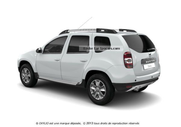 2012 dacia duster 4x2 diesel 1 5 dci 110 cv prestige car photo and specs