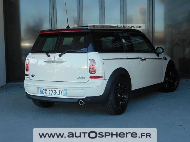 2013 mini clubman cooper hyde park car photo and specs. Black Bedroom Furniture Sets. Home Design Ideas