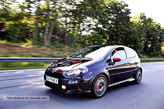 2013 Abarth  Punto Evo Small Car Used vehicle ( Accident-free ) photo