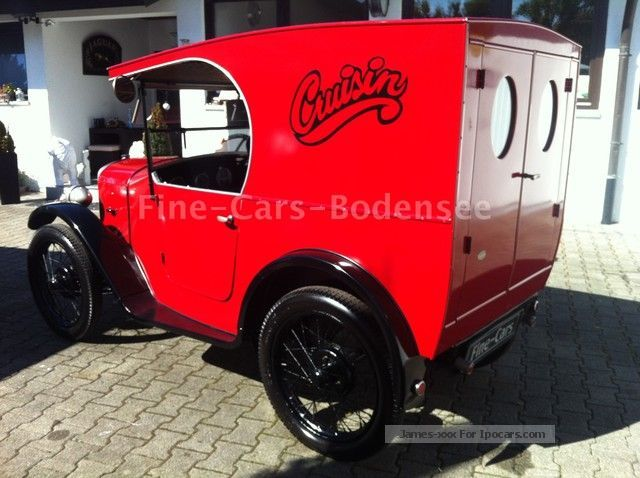 Austin  7-VAN-RESTORED H-APPROVAL U.VOLL DRIVE READY 1929 Vintage, Classic and Old Cars photo