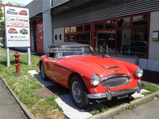 Austin  Healey MK II 3000 CV 131 BJ7 Pronta all 'uso 1964 Vintage, Classic and Old Cars photo
