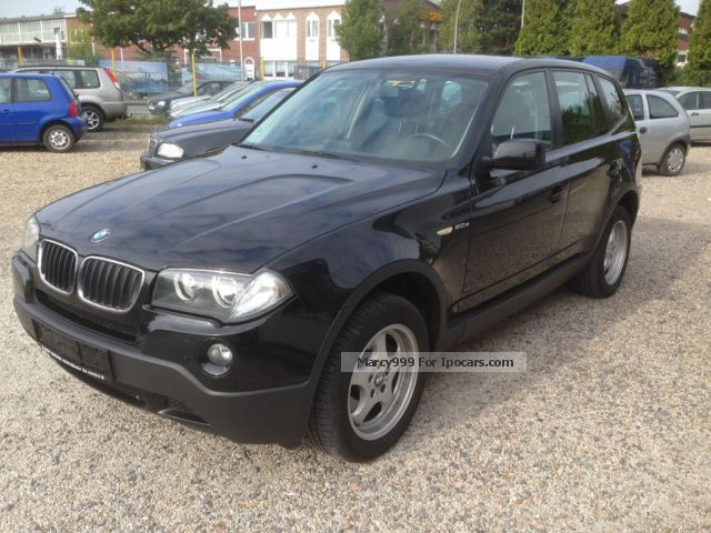 2007 BMW  xDrive20d Navi / leather / cruise control / PDC Saloon Used vehicle ( Accident-free ) photo