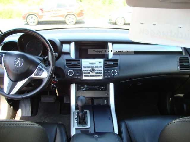 Acura RDX Turbo With Prins LPG System Car Photo And Specs - Acura 2007 rdx