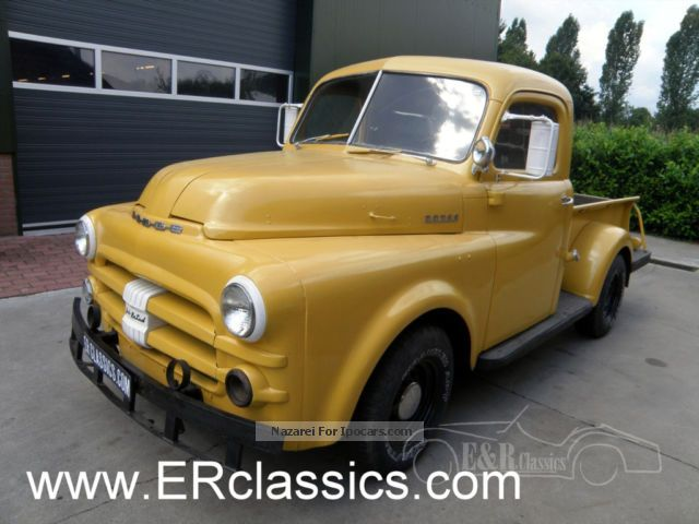 Dodge  Pick-up 1952 Vintage, Classic and Old Cars photo