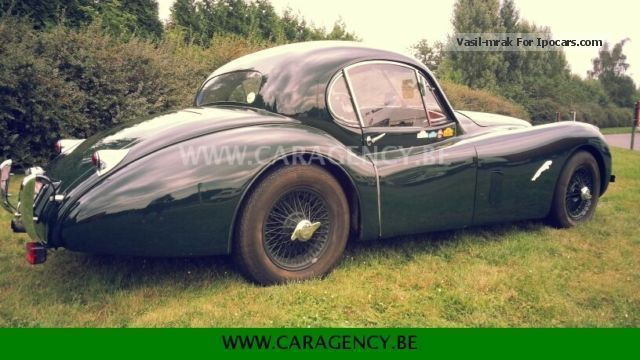 Jaguar  XK120 3.5 super sports coupe model Fixed HEAD 1952 Vintage, Classic and Old Cars photo
