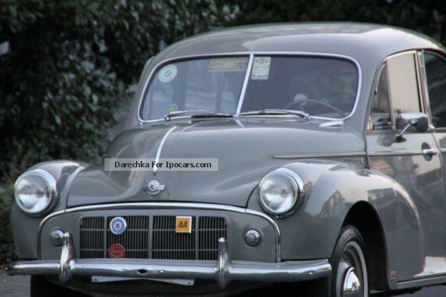 1952 Austin Lhd Morris Minor With Split Windscreen Car