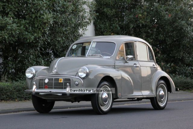 Austin  LHD Morris Minor with split windscreen 1952 Vintage, Classic and Old Cars photo