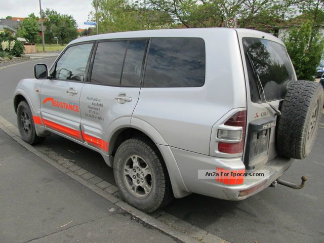 2002 Mitsubishi  3.2DiD, Eleg. + ALU + leather + climate + Auto + Navi + towbar + 1.Hd Off-road Vehicle/Pickup Truck Used vehicle ( Accident-free ) photo