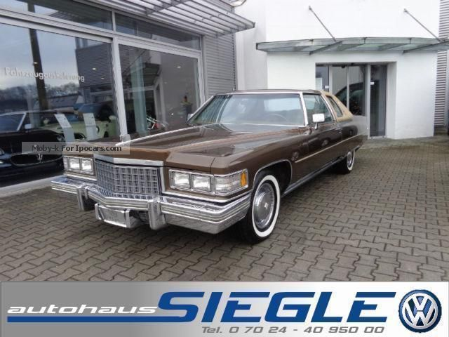 Cadillac  Coupe Deville Elegance 8.2 orig. 9800 km !!! 1976 Vintage, Classic and Old Cars photo