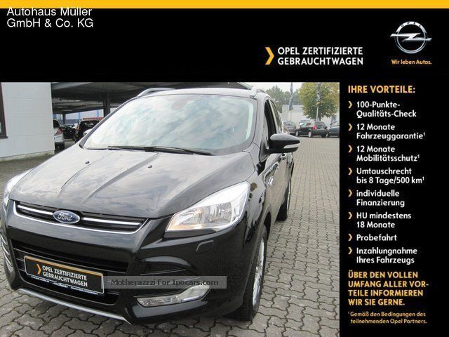 2014 Ford  Kuga 2.0 TDCi Titanium 4x4 Sports Car/Coupe Used vehicle ( Accident-free ) photo