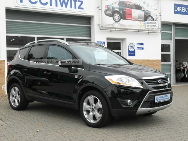 2010 Ford  Kuga 2.0 TDCi 2x4 Titanium + Xenon + Alu 18 \u0026 quot; and so on Off-road Vehicle/Pickup Truck Used vehicle ( Accident-free ) photo