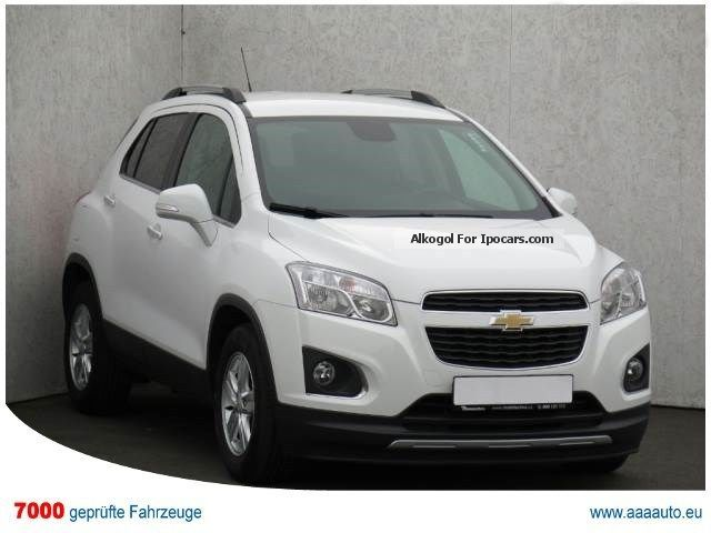 2013 Chevrolet  TRAX 1.6 16V 2013 1.HAND, CHECKBOOK, LEATHER Off-road Vehicle/Pickup Truck Used vehicle ( Accident-free ) photo