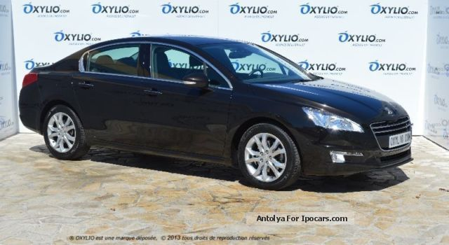 2012 Peugeot  508 2.0 HDI BVM6 140 cv Allure + GPS Saloon Used vehicle photo