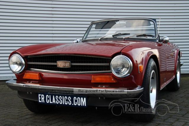 Triumph  1974 burgundy red with overdrive 1974 Vintage, Classic and Old Cars photo