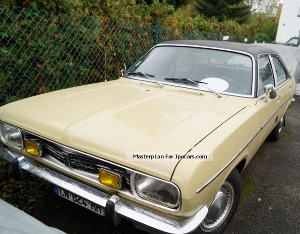 Talbot  Simca P1610, Well maintained classic cars 1974 Vintage, Classic and Old Cars photo