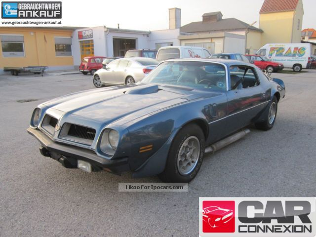 Pontiac  Trans Am 455 Survivor from first owner 1974 Vintage, Classic and Old Cars photo