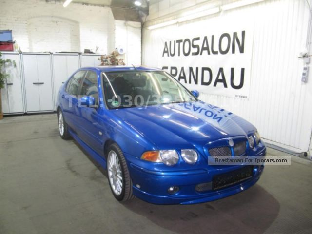 MG  ZS SPORT 2.5 V6 GAS SYSTEM (LPG) 2002 Liquefied Petroleum Gas Cars (LPG, GPL, propane) photo