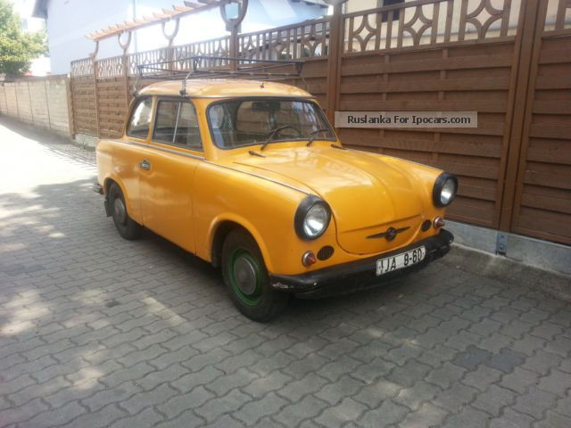 Trabant  Other 1960 Vintage, Classic and Old Cars photo