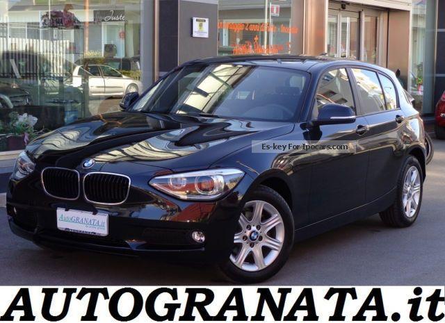 2012 BMW  116 D UNIQUE Steptronic S \u0026 S Saloon Used vehicle photo