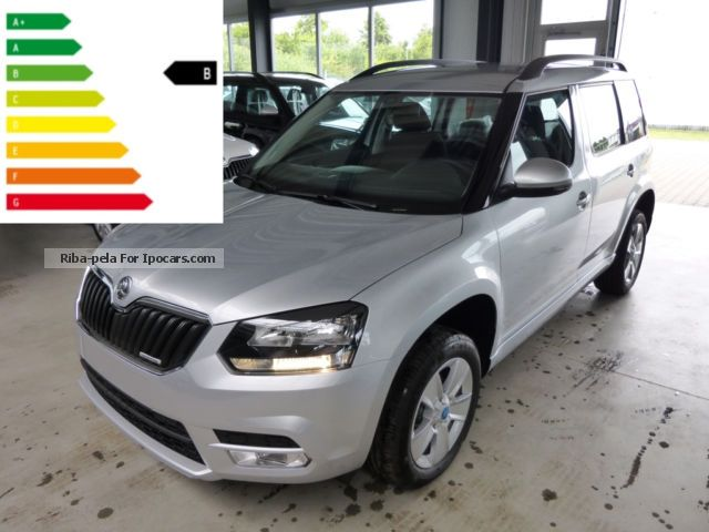 2012 Skoda  City Yeti 1.6 TDI Ambition Plus Green Navi Shzg Off-road Vehicle/Pickup Truck New vehicle photo