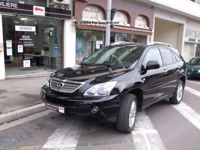 Lexus  RX 400h 3.3 V6 Black Edition E-CVT 2010 Hybrid Cars photo