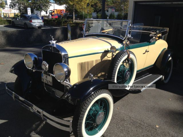Plymouth  Model U \u0026 quot; Rumble Seat Roadster \u0026 quot; 1929 Vintage, Classic and Old Cars photo