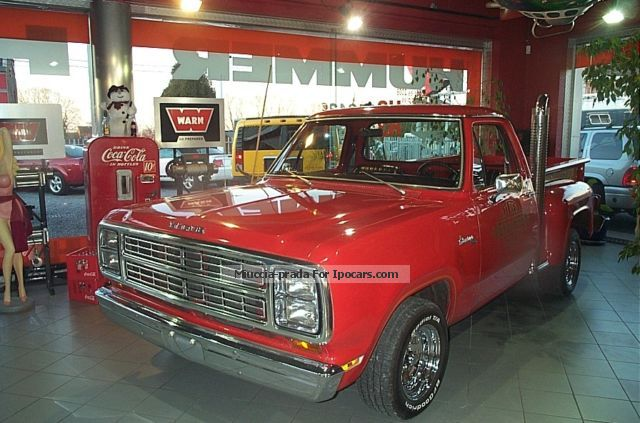 Dodge  ADVENTURER RED TRUCK E150 LI'L Pack. 1979 Vintage, Classic and Old Cars photo