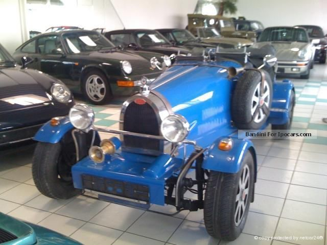 1985 Bugatti  35 B Replica SINGLE PIECE !! Racing technology Cabriolet / Roadster Classic Vehicle ( Accident-free ) photo