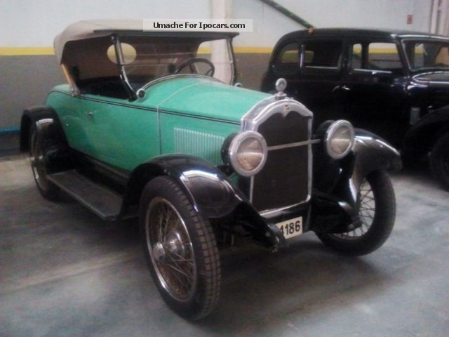 Buick  24-25 Torpedo Roadster 1.Hand unique Garage Fund 1924 Vintage, Classic and Old Cars photo
