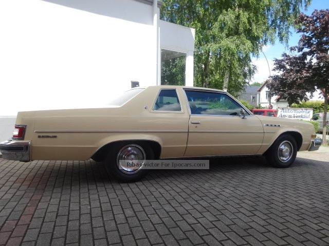 1978 Buick  Electra 225 Coupe 5.7 L V8 Sports Car/Coupe Used vehicle photo