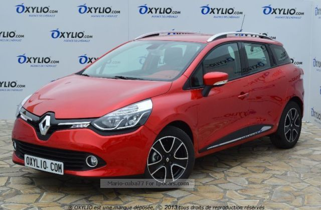 2012 Renault Clio IV Diesel Estate 1.5 Dci 90 Break Cv