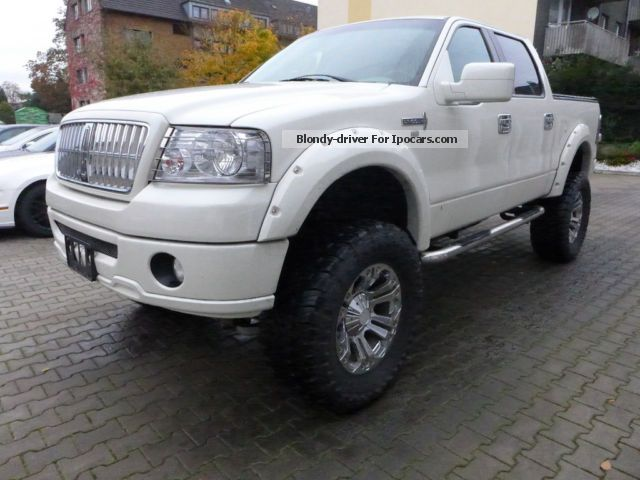 Lincoln  Mark LT 4x4 Petrol / Gas 2008 Liquefied Petroleum Gas Cars (LPG, GPL, propane) photo