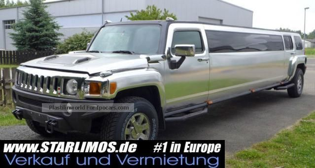 2007 Hummer  Stretch limousine limo Chromfoliert Saloon Used vehicle ( Accident-free ) photo