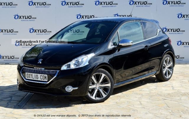 2012 peugeot 208 3 portes essence 1 6 thp 155 xy gps car photo and specs. Black Bedroom Furniture Sets. Home Design Ideas
