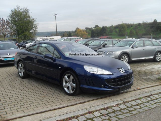 2008 peugeot 407 coupe v6 hdi fap 205sport navi xenon diesel car photo and specs. Black Bedroom Furniture Sets. Home Design Ideas