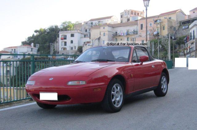 1997 Mazda Mx 5 Miata Sports Car Coupe