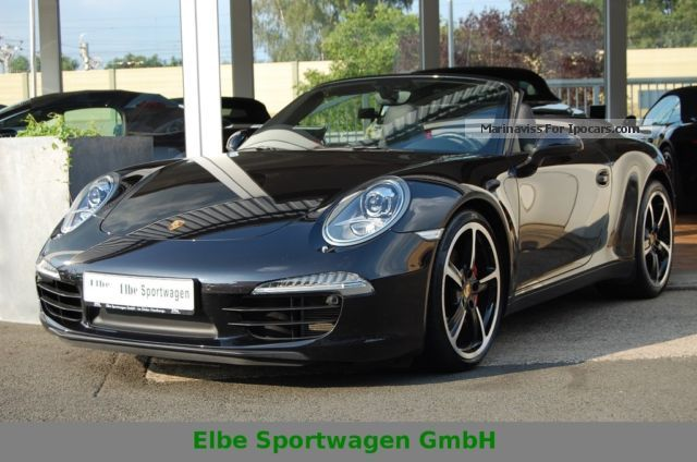 2012 Porsche  911 991 S Convertible PDK + + Chrono + 1.Hd. + BOSE + 20 \u0026 quot; Cabriolet / Roadster Used vehicle photo