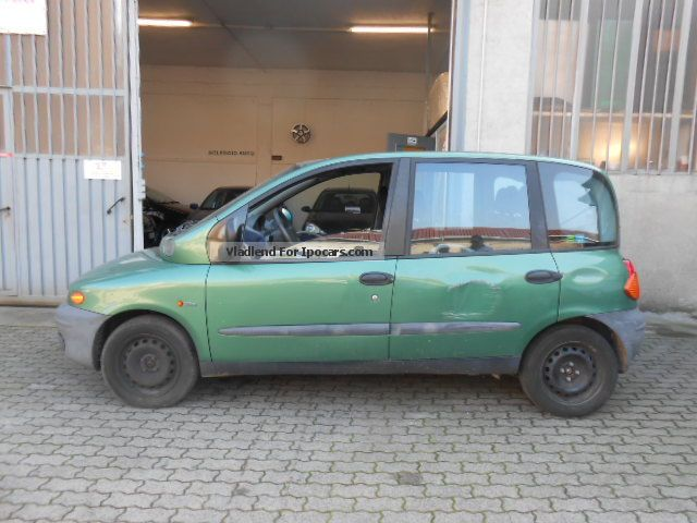 2000 fiat multipla 1 6 elx car photo and specs. Black Bedroom Furniture Sets. Home Design Ideas