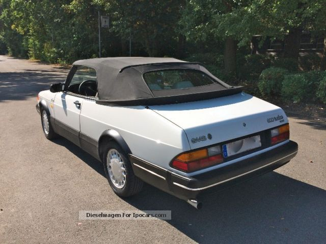1990 saab 900 turbo cabrio 16 from 1 hand car photo and. Black Bedroom Furniture Sets. Home Design Ideas