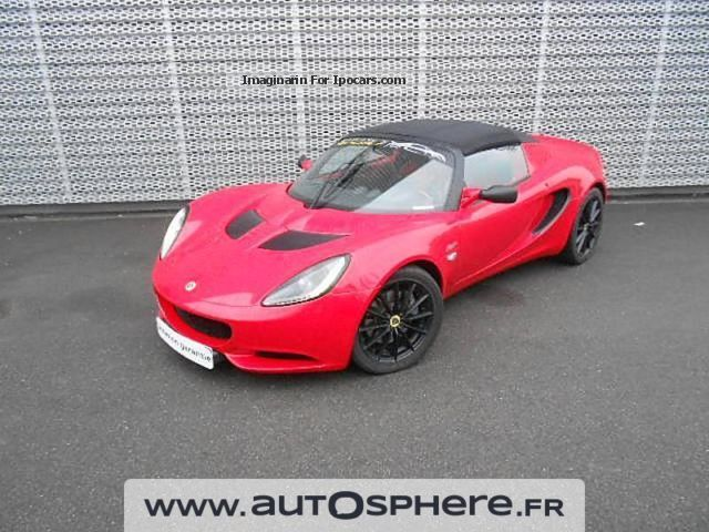 2012 Lotus  Elise Club Racer 1.6 136ch Cabriolet / Roadster Used vehicle photo