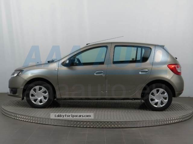 2014 dacia sandero 1 2 16v 2014 eu new cars air car photo and specs. Black Bedroom Furniture Sets. Home Design Ideas