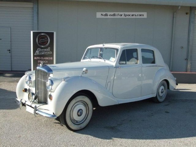 1953 Bentley  R TYPE SALOON-ASI TARGA ARGENTO Saloon Classic Vehicle ( Accident-free photo